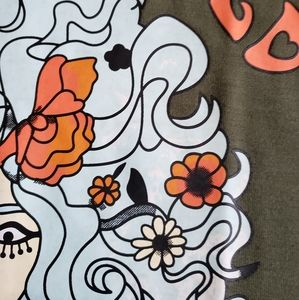 unknown Tops - 🌹 Flower Child Hippie Boho Bohemian T-Shirt